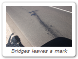 Bridges leaves a mark
