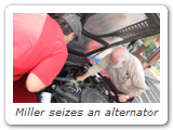 Miller seizes an alternator